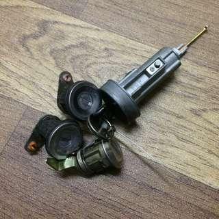 Japan Mira L5 L6 L2 L2s Car key set for kancil