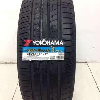 """New 17"""" Yokohama Tyres"""