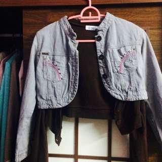 Denim Jeans Jacket  #Bajet20