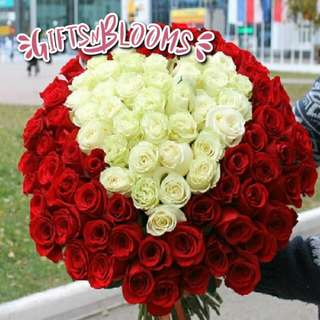 Fresh Flower Bouquet Surprise for Special Anniversary Birthday Gift V15 - IEEYO