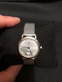 CK Calvin Klein ladies bracelet watch