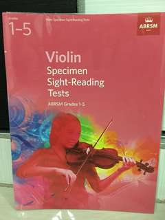 Sight reading violin Gr1-5