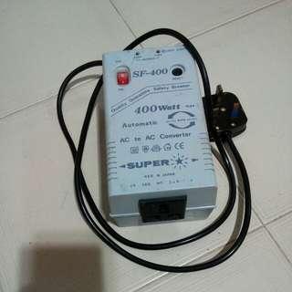 SF- 400 400watt. AC TO AC Convertor