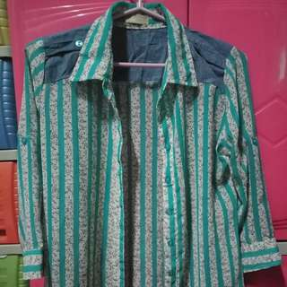 Cliffe floral blouse