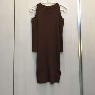 Chocochips knit dress