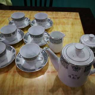 Teapot Set 15 items