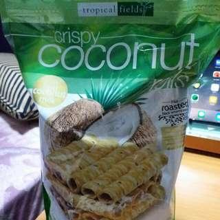 Tropical Fields coconut rolls 椰子卷