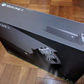 BNIB Xbox One X