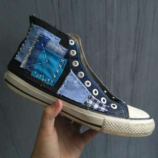 Warrior Pro Denim HC not Converse Vans Nike Docmart
