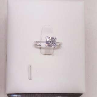GIA 1.08卡  18K鑽石介指 3Ex M