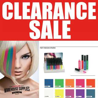 HAIR MASCARA CHALK TEMPORARY COLOR [ NO BLEACHING COLOR ]