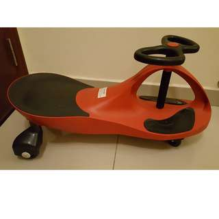Self-Powered Ride-on Yoyo/ Plasma/ Swing/ Twist Car (Red Colour)