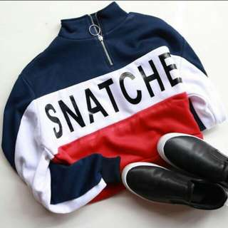 NEW Sweater SNATCHE (freeongkir jabodetabek)