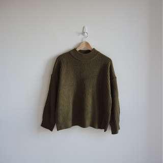 全新正韓製小高領針織毛衣 免運