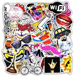 [PO] Laptop/Luggage/Phone Stickers