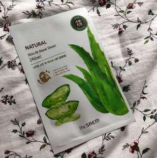 Natural skin-fit mask sheet #Bajet20
