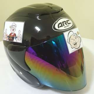 1403***ARC Ritz Helmet For Sale 😁😁Thanks To All My Buyer Support 🐇🐇 Yamaha, Honda, Suzuki