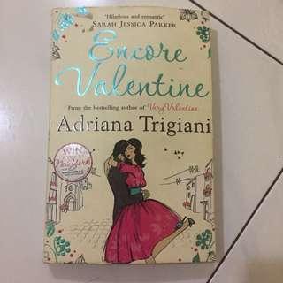 Encore valentine- Adriana trigiani #bajet20