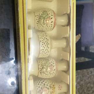 Porrcelsin vase open