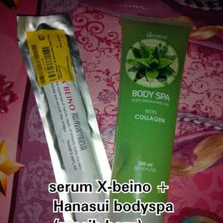 Serum X-beino + Hanasui bodyspa