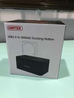 "BNIB UNITEK USB3.0 to SATA6G 2.5""/3.5"" HDD Docking Station"