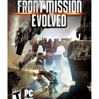Front Mission Evolved [GAME PC LAPTOP]
