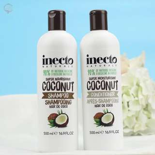 Inecto Hair Shampoo/Conditioner $7 each.