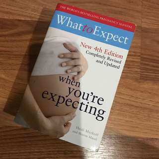 Buku What to Expect when You're Expecting