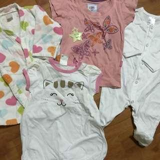 ‼️price reduction ~ Bundle - Baby apparels #Bajet20