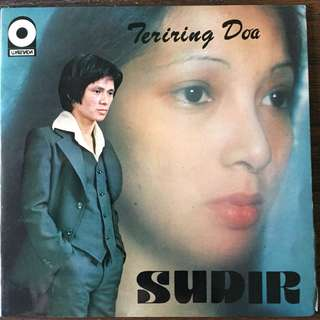"Sudirman - Teriring Doa (1976) Singapore Malay Pop EP 7"" Record Vinyl"