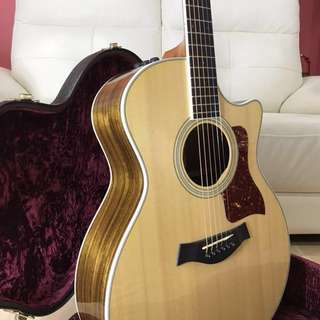 Priced to clear Taylor 414ce Limited 2014