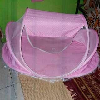 kelambu pink