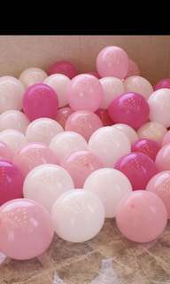 Balloon latex (80 pieces)