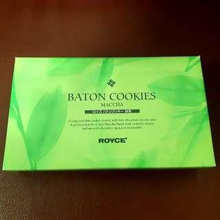 (已減價)Royce 抹茶 cookie (25枚)