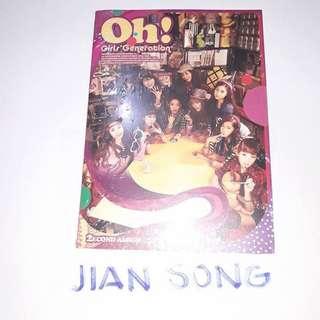 🌸 SNSD - 2ND FULL ALBUM 'OH!' 🌸