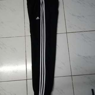 Adidas Three Stripe track pants