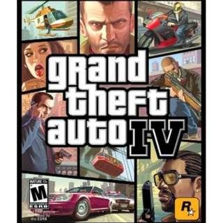 Grand Theft Auto IV GTA {GAME PC LAPTOP]