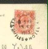 Very rare Raffles Hotel postmark