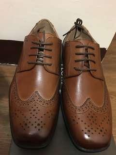 Florsheim 啡色皮鞋