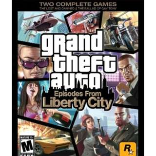 Grand Theft Auto IV Liberty City Stories GTA [GAME PC LAPTOP]