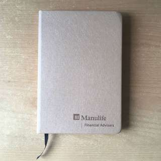 Manulife Financial Advisors Faux Leather Skin NoteBook