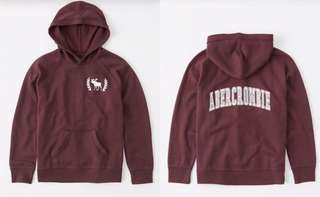 A&F Kids Clearance  Logo Graphic  Hoodie
