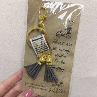 [Brand New] Handmade Keychain from Thailand #bajet20