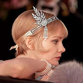 1920s Great Gatsby Hairpiece
