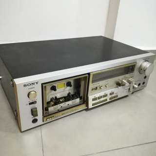 Sony TC-K71 Stereo 3 Head Cassette Deck Player