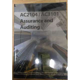 Assurance and Auditing: A Customized Text, McGraw-Hill, 2015. (AC2104/AC3101/AC6105)