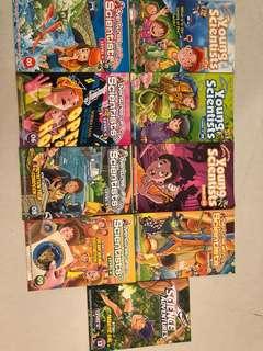 Assorted children books