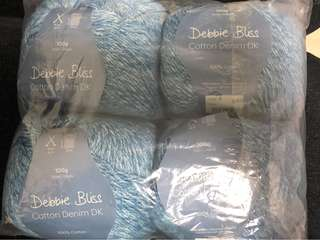 Debbie Bliss Cotton Denim DK KNITTING YARNS (PRICE INCLUDE NORMAL MAIL)