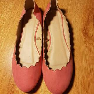 Parisian Flats Shoes Pink