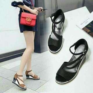 Korean wedge sandals..